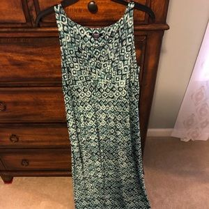 XL Maxi dress from Kohl's, chaps brand.  Worn once